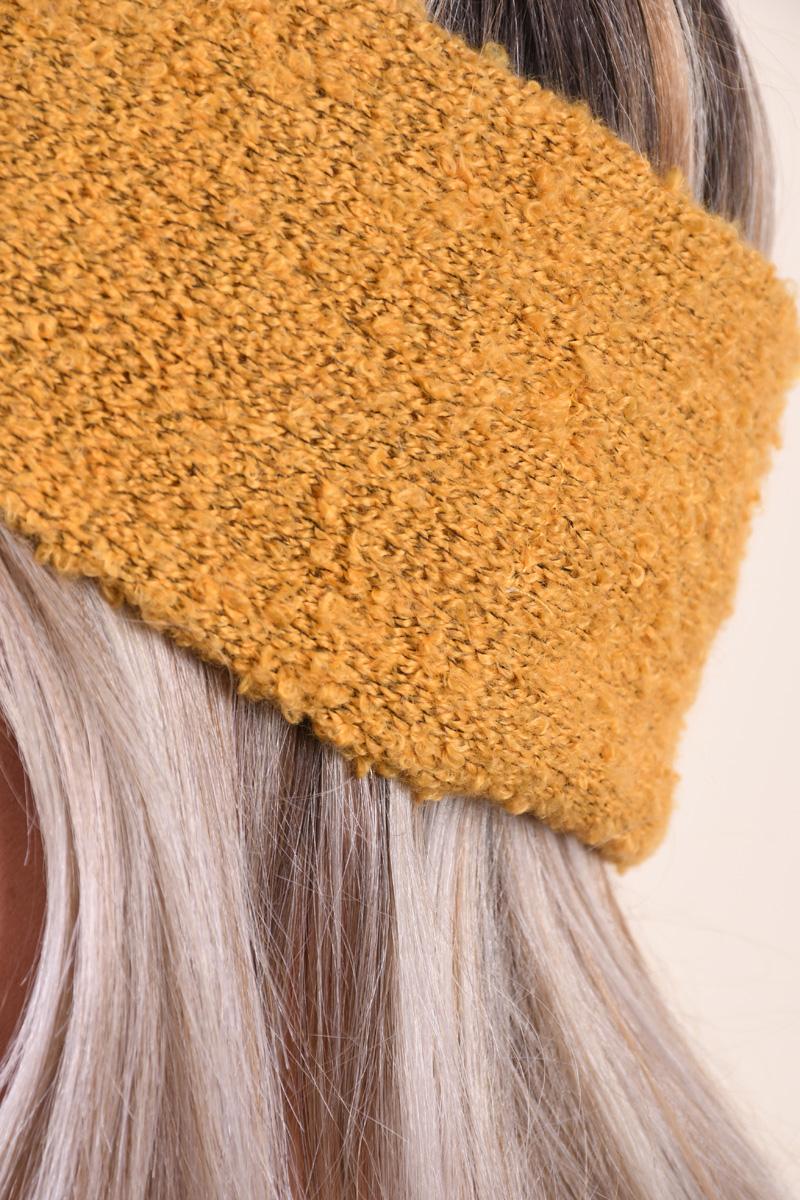 Canadiana ONLY Lima Knit Yolk Yellow
