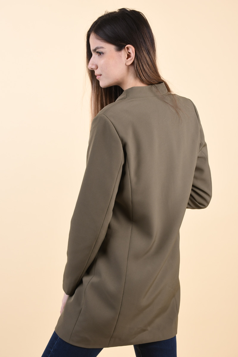 Sacou ONLY Maria-Anna Long Olive Night