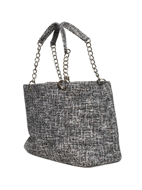 Poseta PIECES Opel Shopper Light Grey Melange