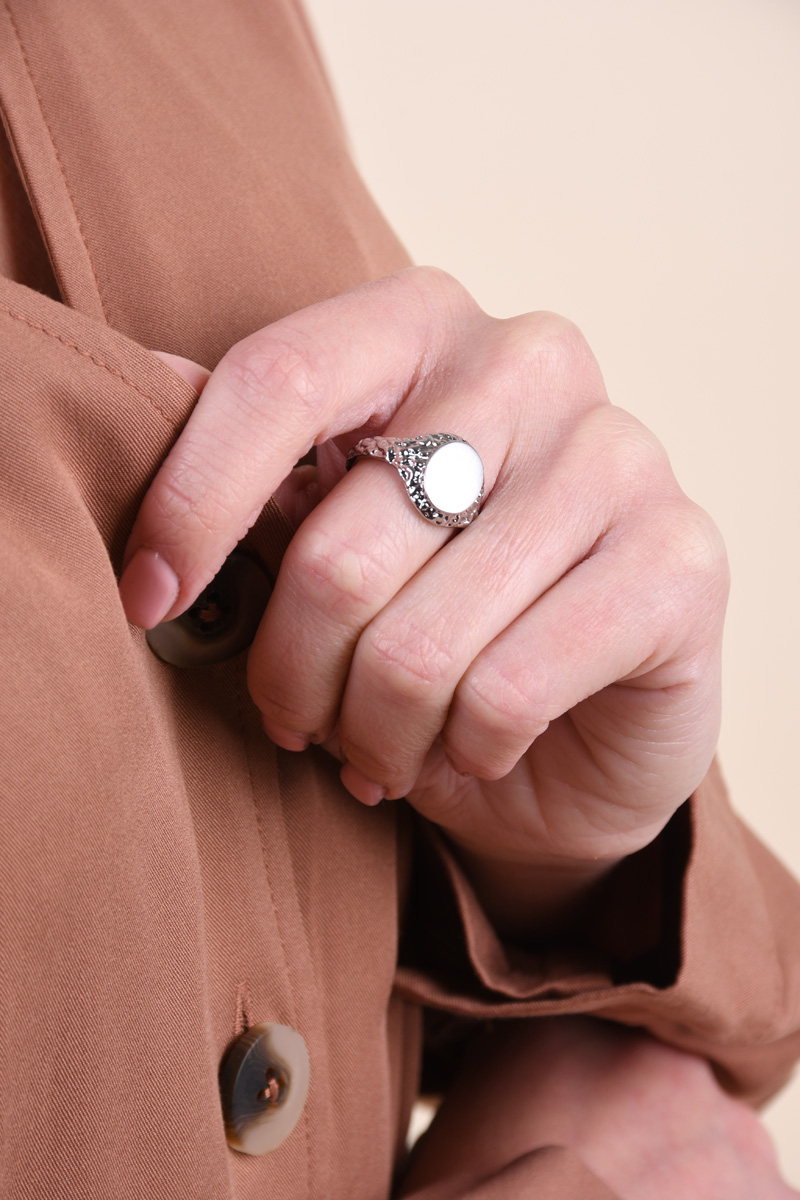 Inel PIECES Pcnenna Ring Silver