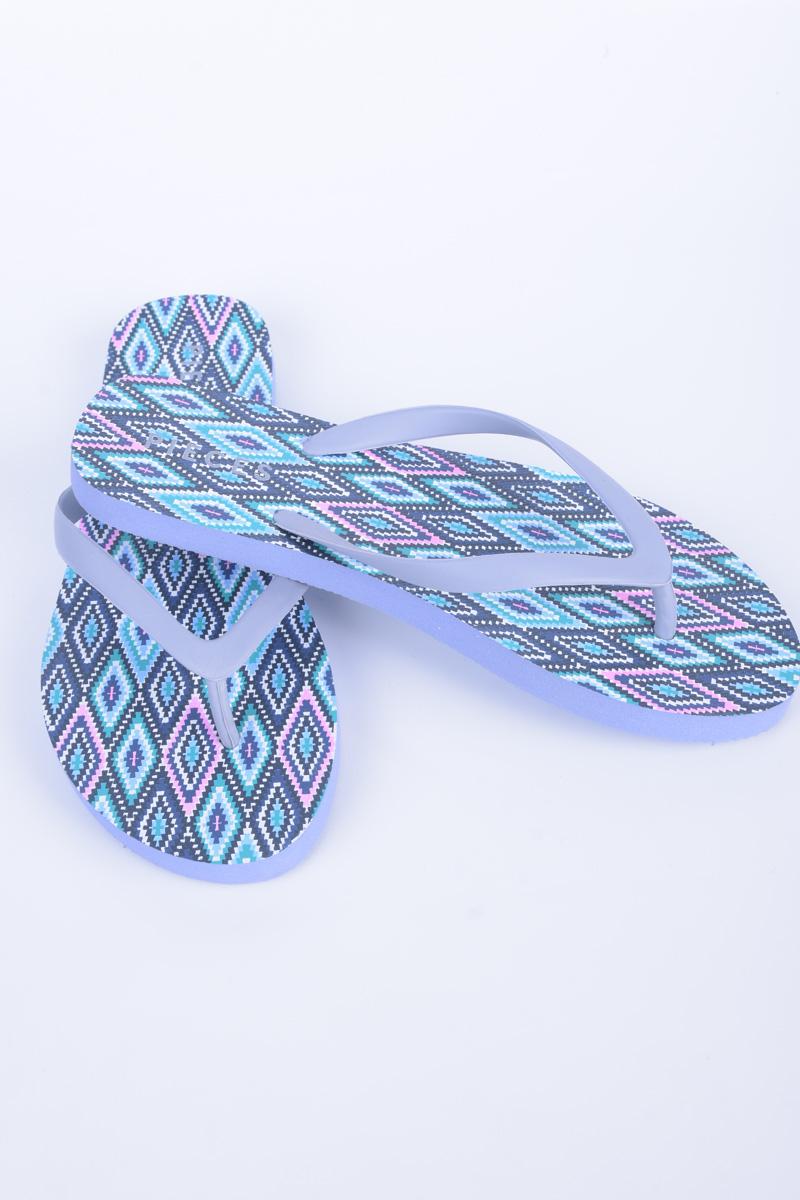 Slapi Plaja PIECES Vera Flip Flop Albastru