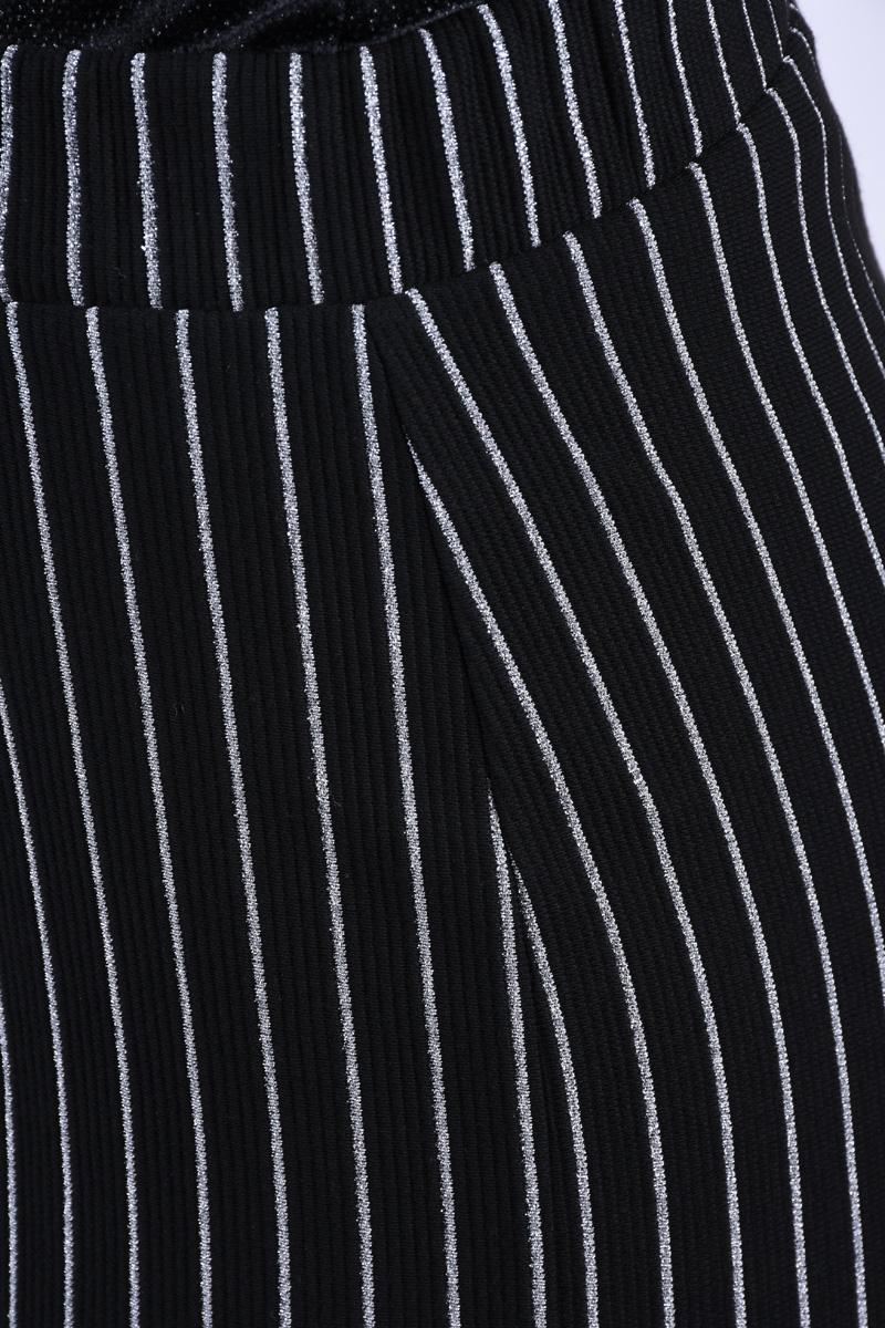 Pantaloni Drepti PIECES Oriak Negru