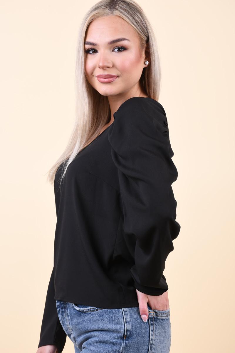Bluza PIECES Yrinna Black