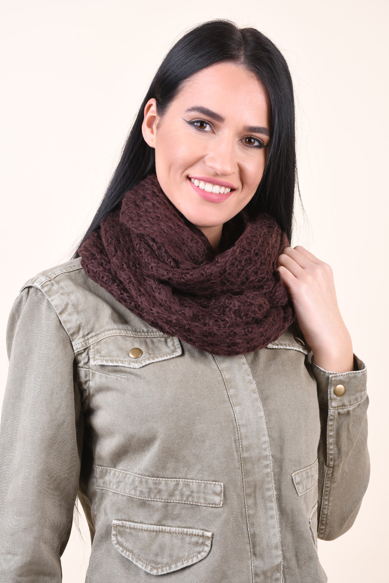 Fular PIECES Diella Tube Scarf