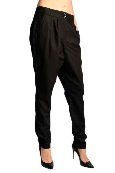 Pantaloni Lungi Saint Tropez Eirian Negru