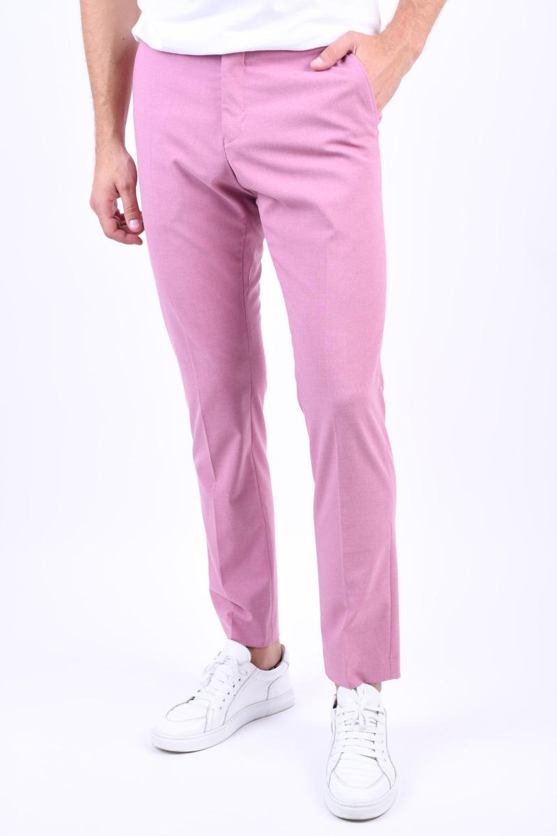 Pantaloni SELECTED Milogan Silver Pink