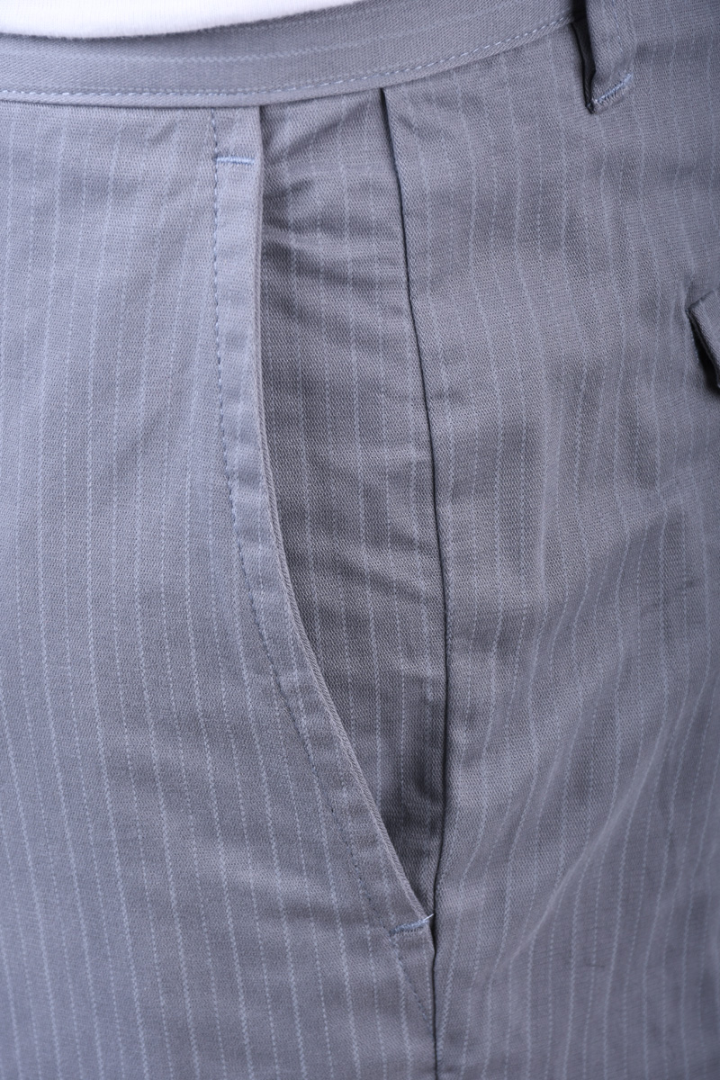 Pantaloni SELECTED Slim-Bart Mix Grey Stripes