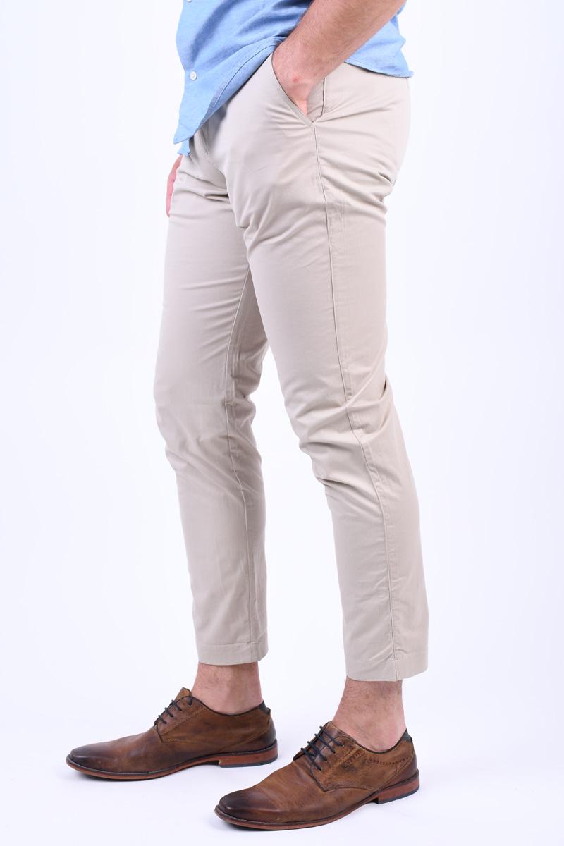 Pantaloni SELECTED Tapered-Luke Simply Taupe