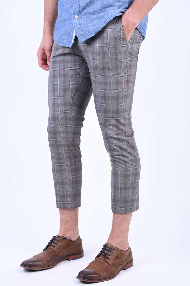 Pantaloni Carouri SELECTED Slim-Riclogan Sand
