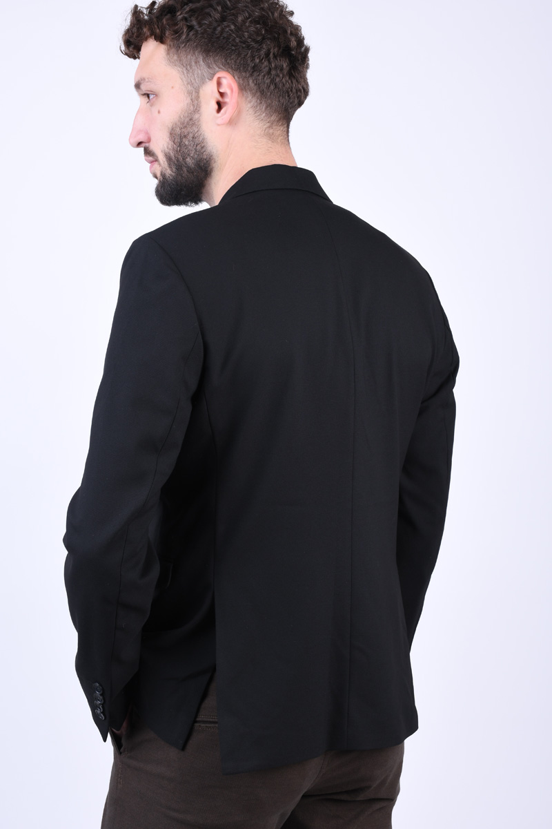 Sacou Slim SELECTED Cale Black