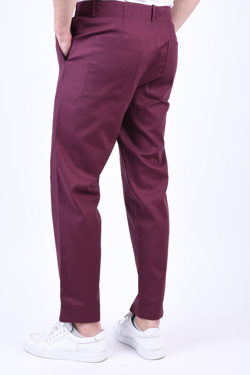 Pantaloni SELECTED Special-Wick Port Royale