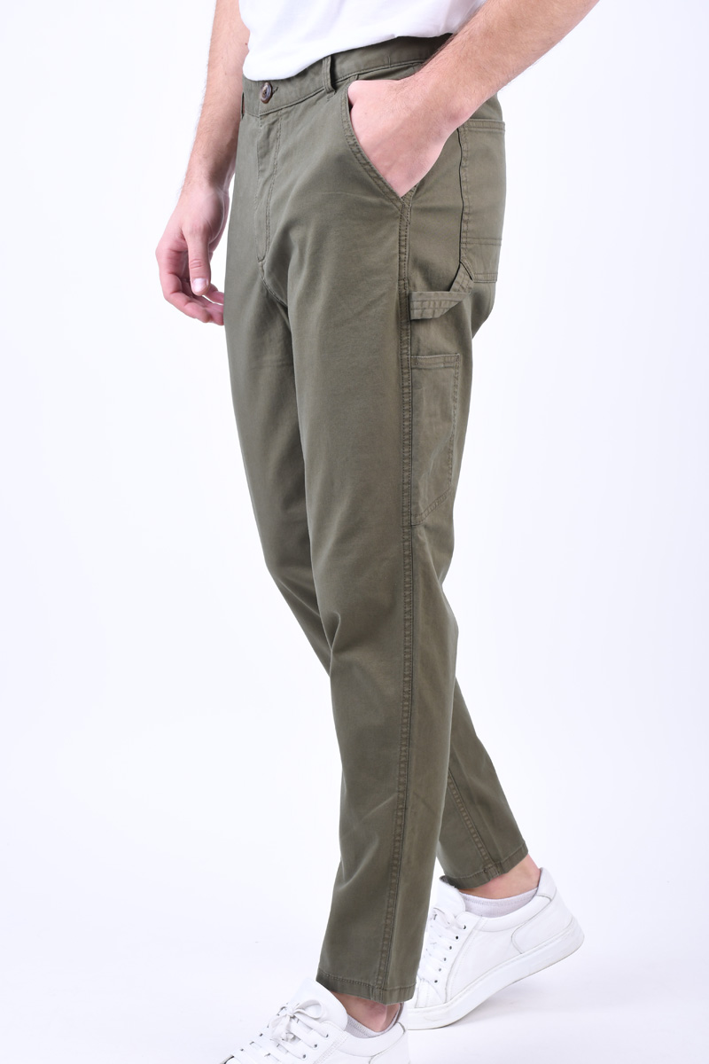 Pantaloni SELECTED Tapered-Brody Grape Leaf