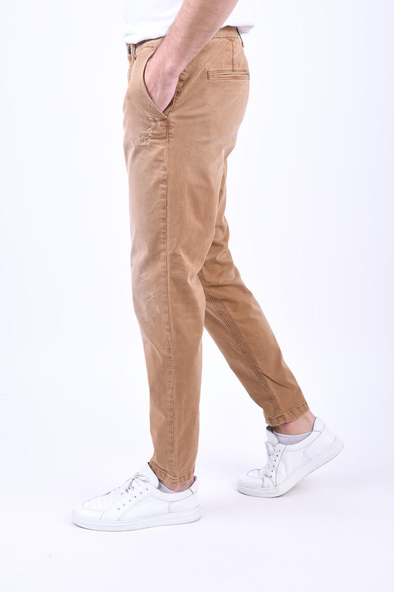 Pantaloni SELECTED Specialnico Camel