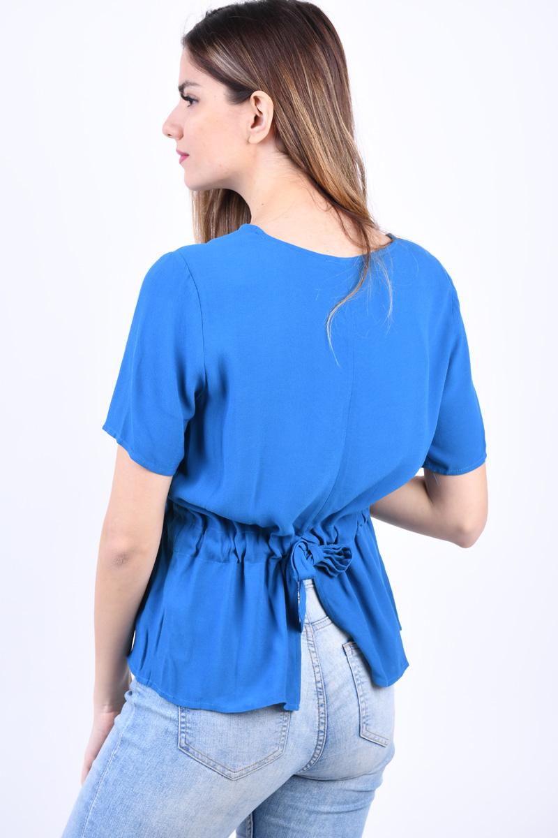Bluza Vascoza SELECTED Tanna Albastru Aprins