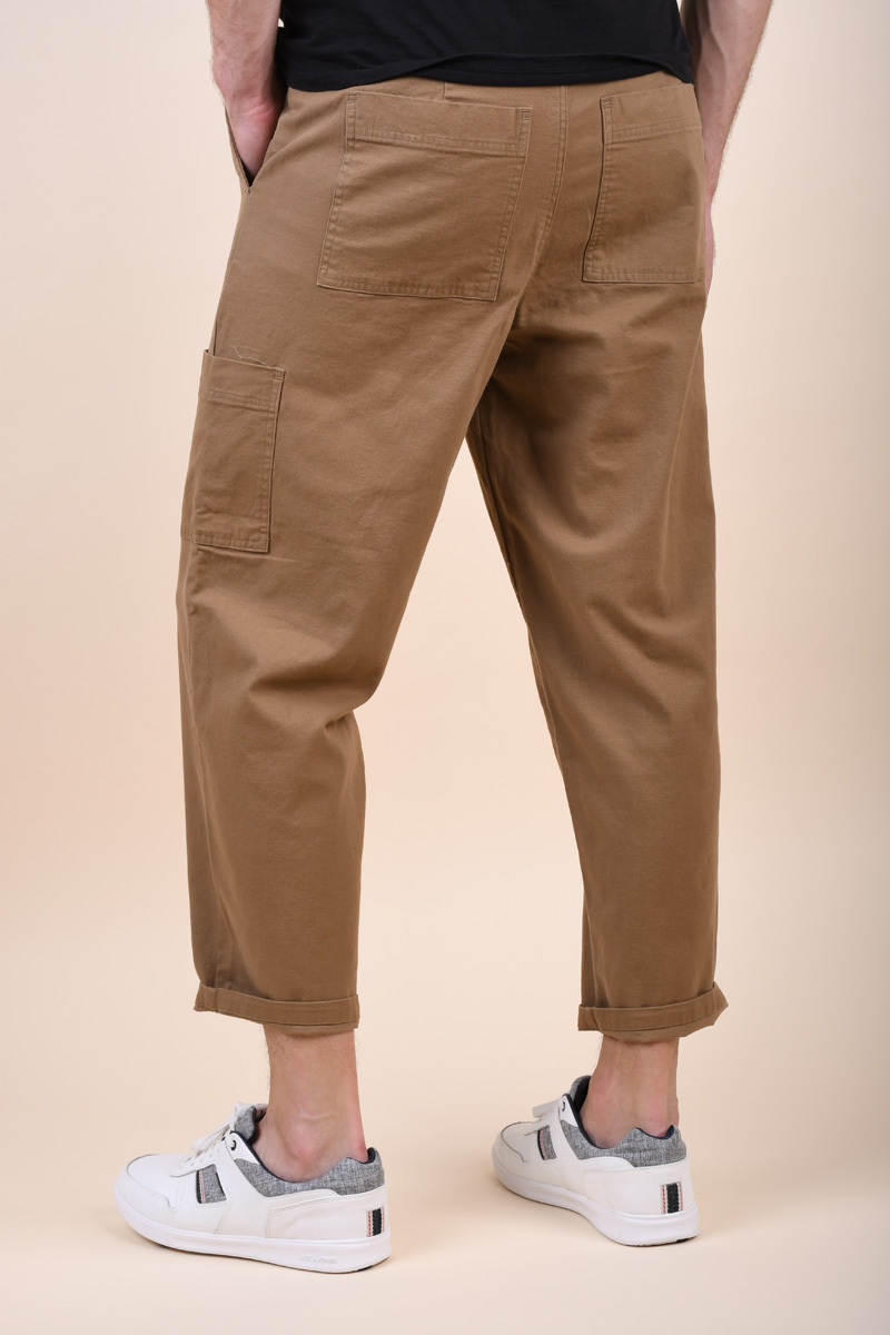 Pantaloni SELECTED Special Chase Lead Gray