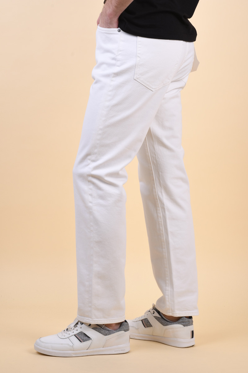 Blugi SELECTED Comfort-Luke6253 White