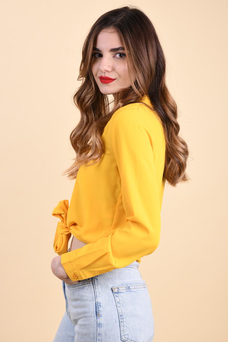 Camasa Sister Point Ellida-A Mustard