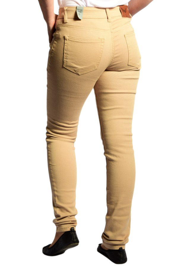 Pantaloni Lungi Bumbac SORBET S-Elly Crem