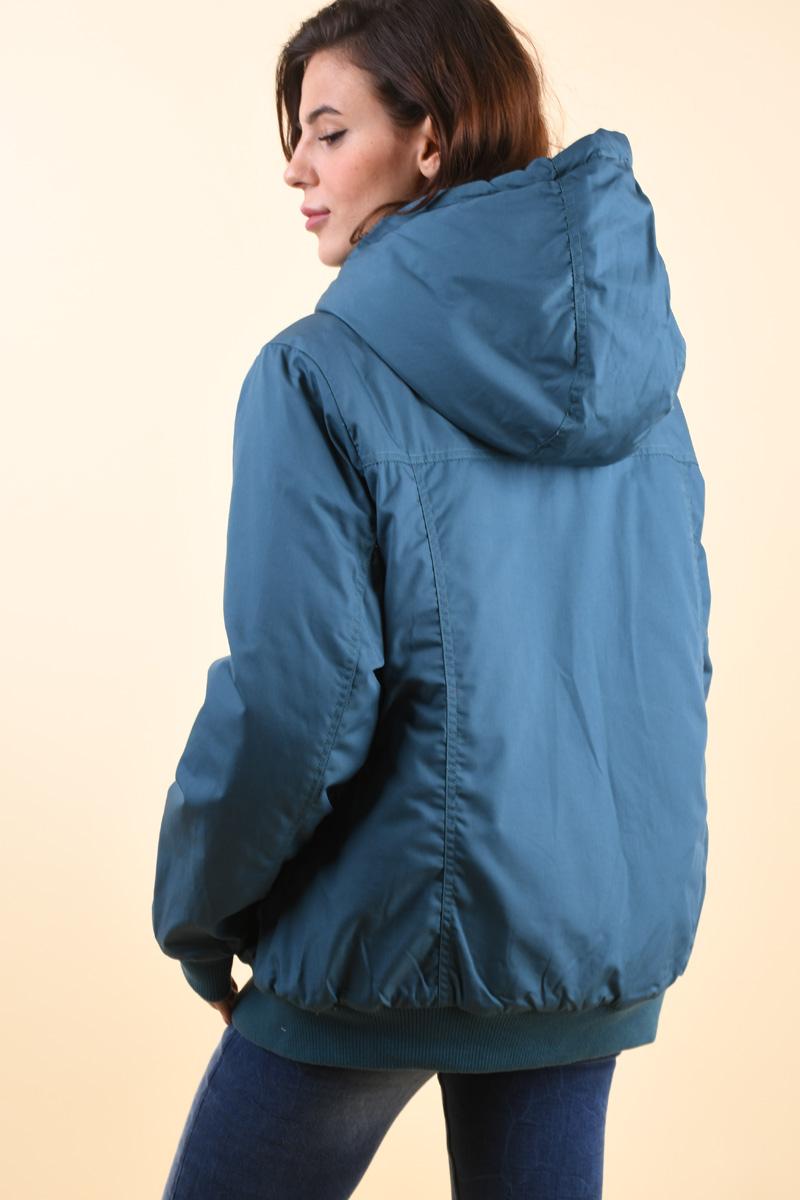 Geaca SUBLEVEL D51740E44308Aol Verde Albastrui