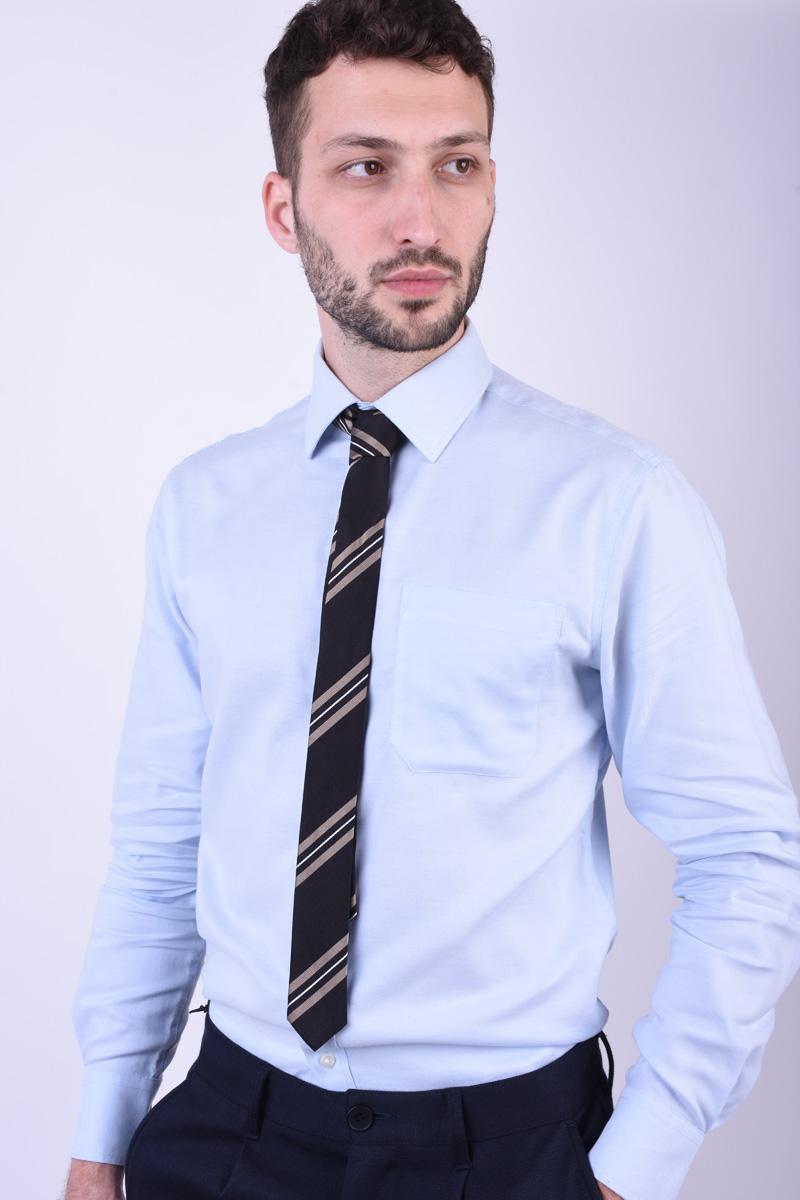 Cravata Tiger T1260-1355 T Negru / Maro