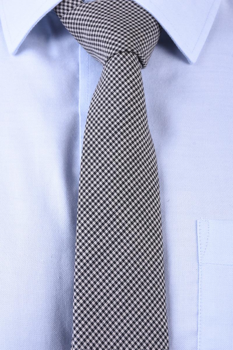 Cravata Tiger T1265-1323 T Negru / Alb