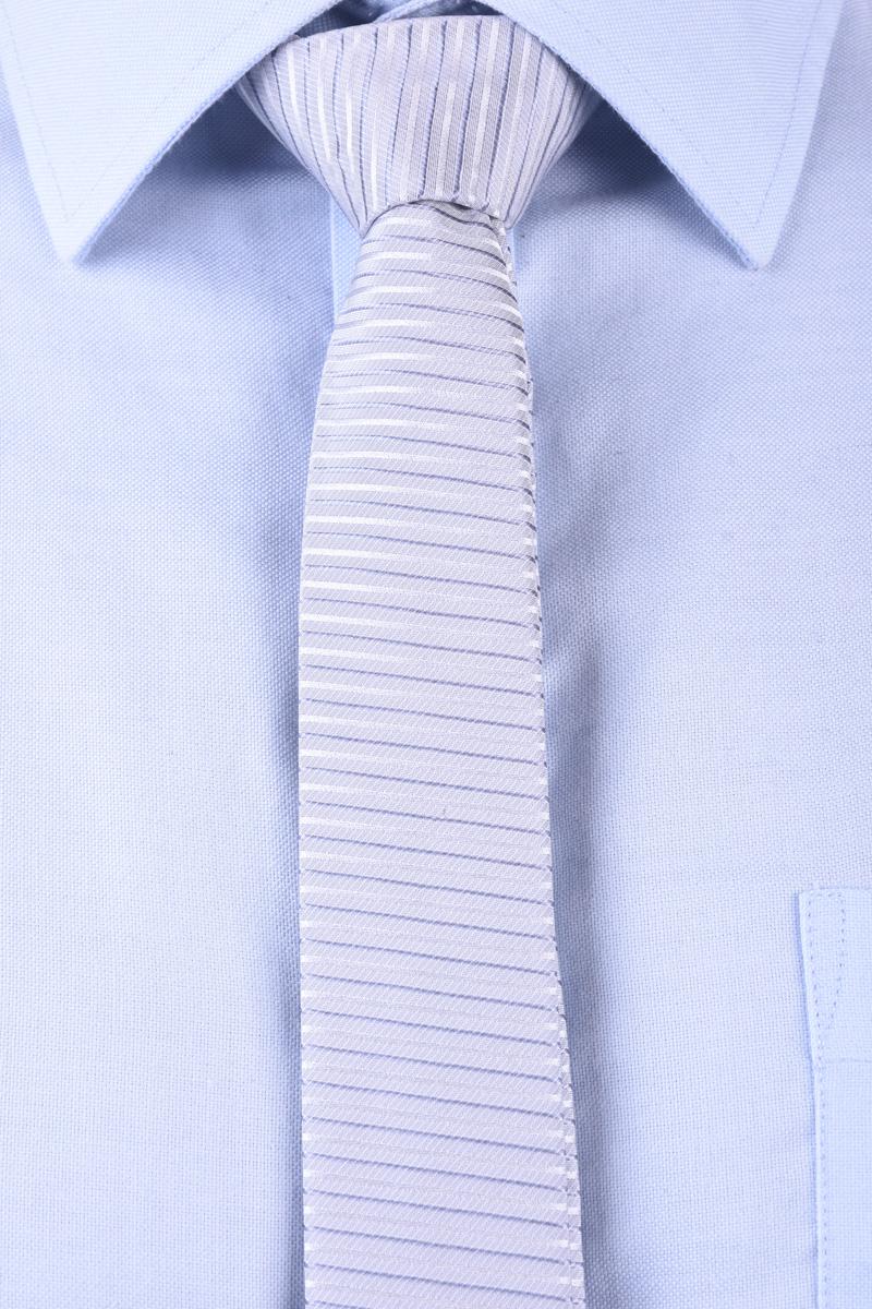 Cravata Tiger T1260-1300 T Gri / Argintiu