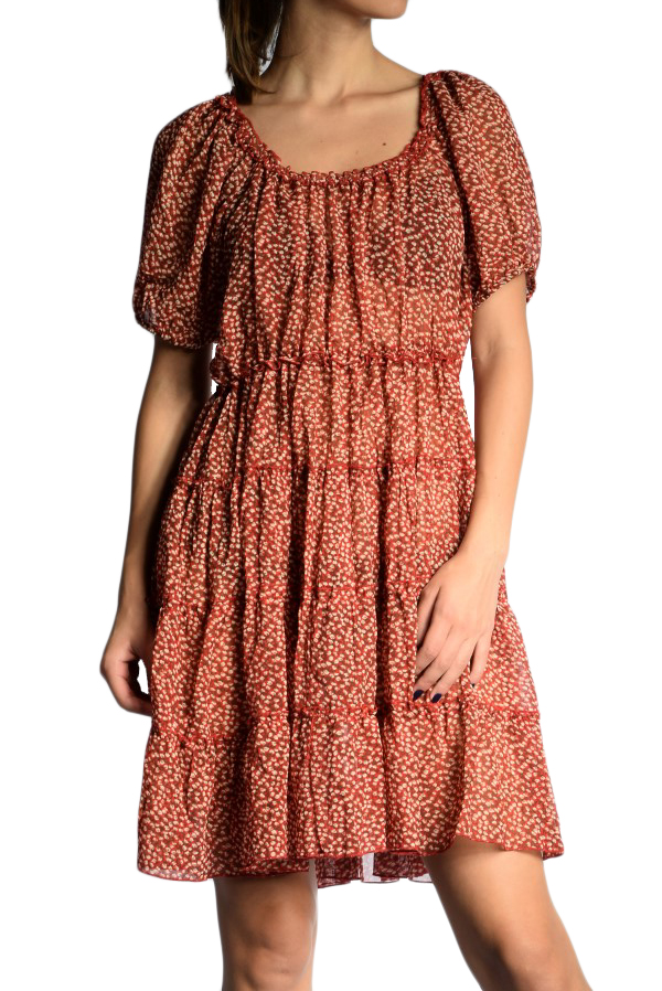 Rochie Lunga Saint Tropez Filimena Red Flower