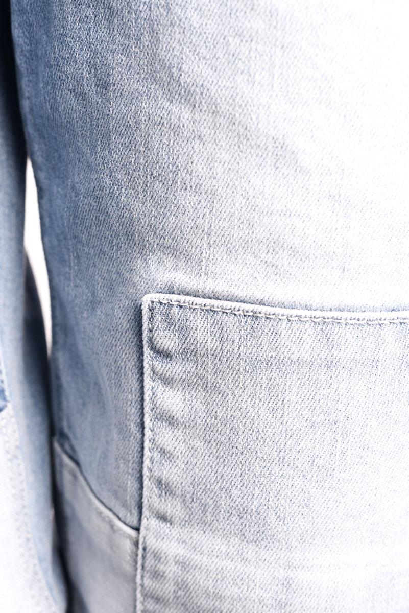 Blugi VERO MODA Ten Regular Patch Ankle Light Blue Denim
