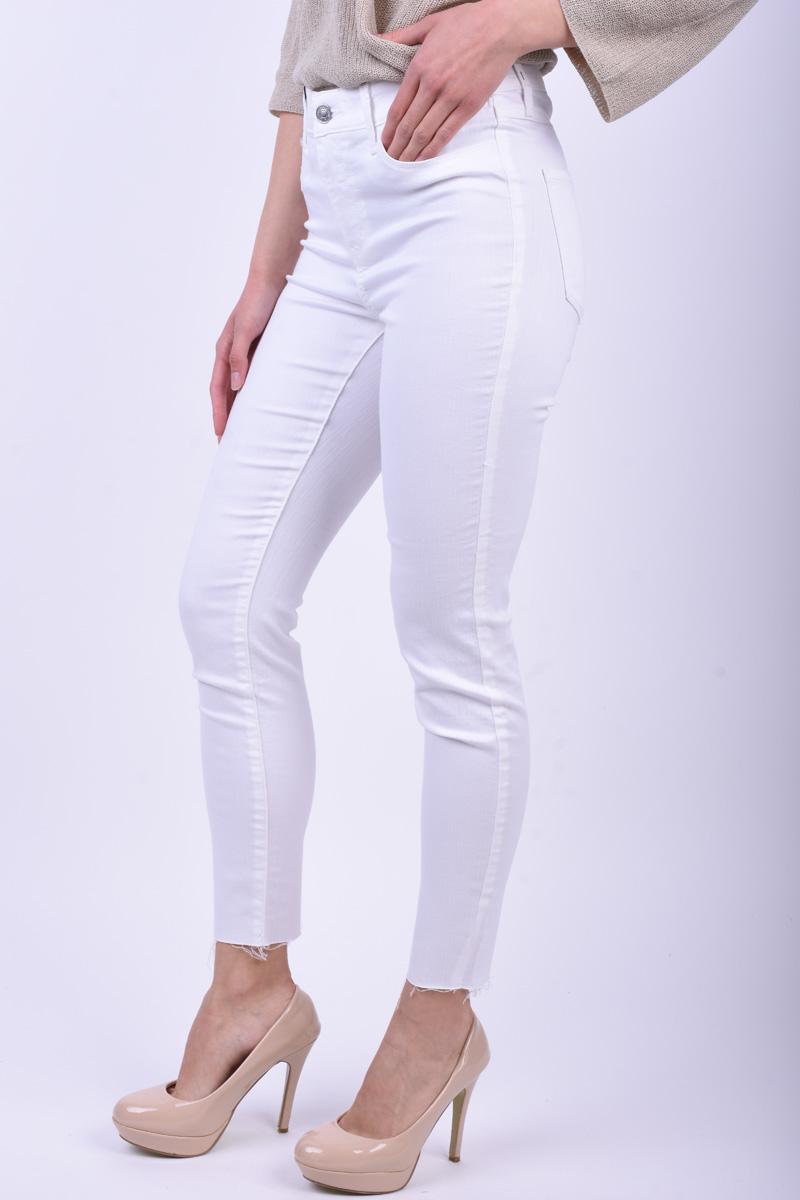 Pantaloni VERO MODA Seven Edge White