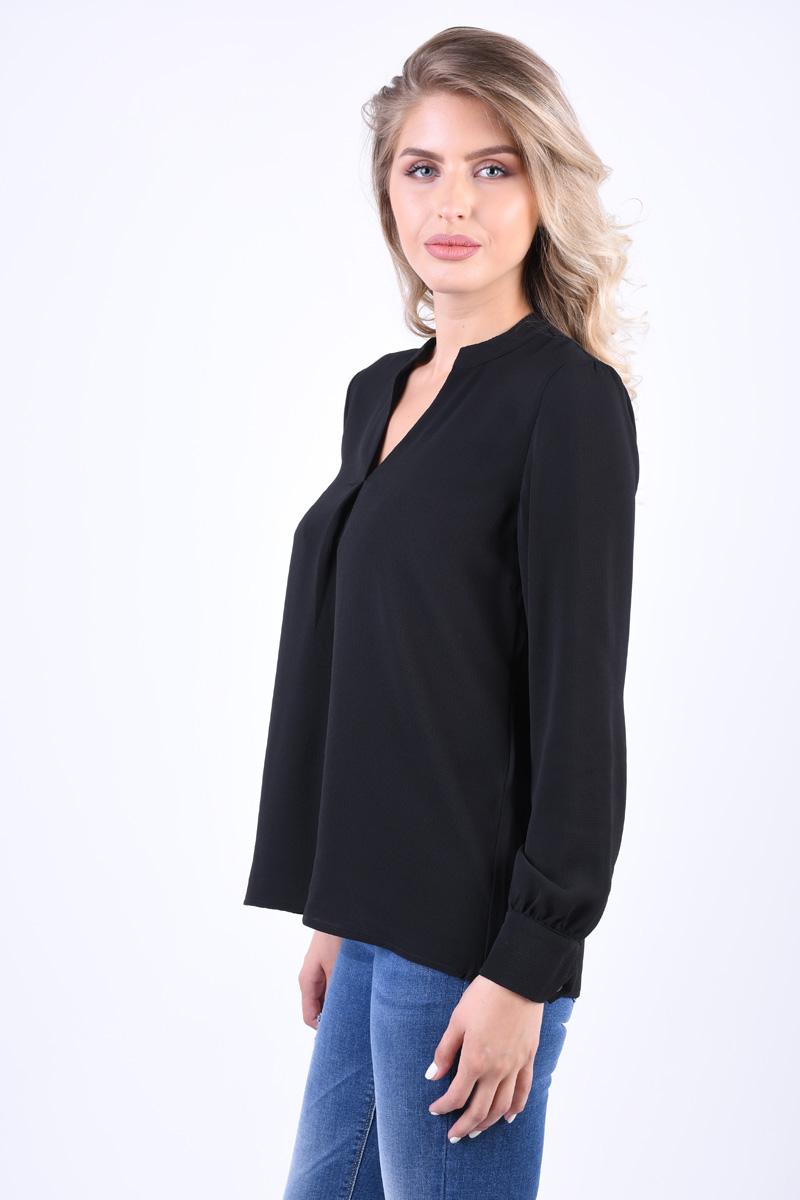 Bluza Eleganta VERO MODA Sasha Rome Negru