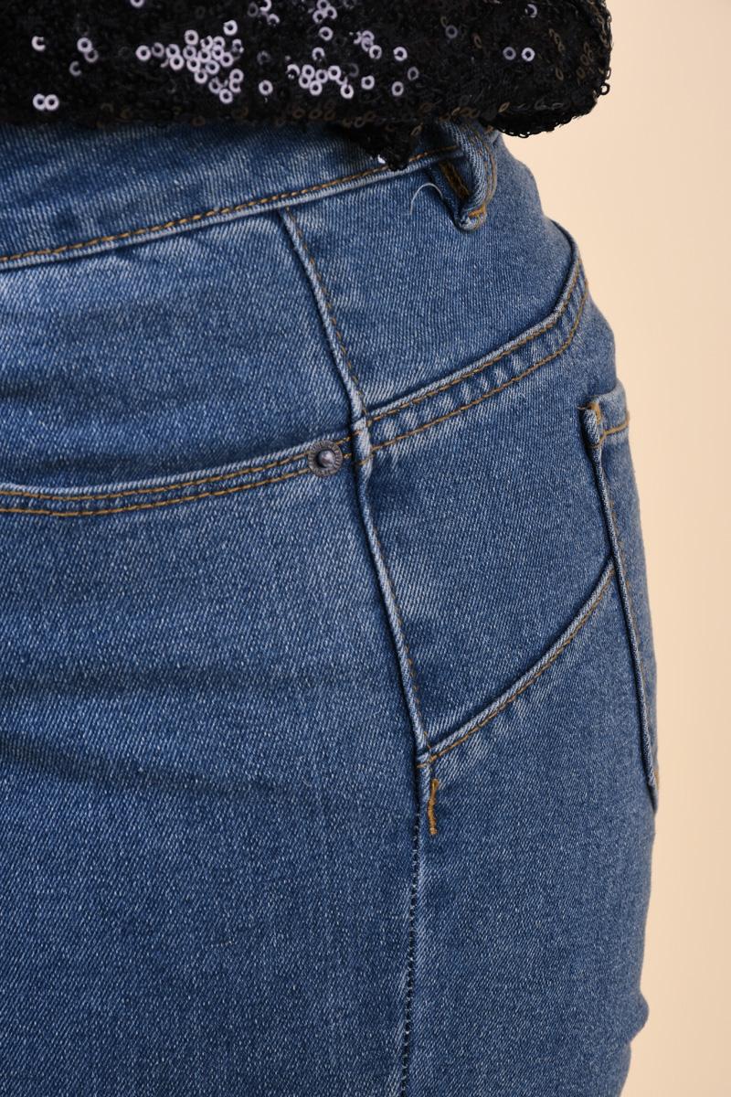 Pantaloni Scurti VERO MODA Hot Seven Bleumarin