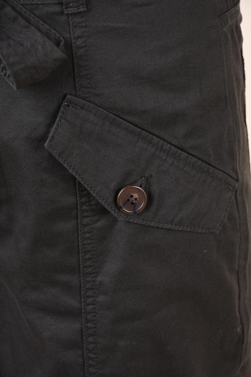 Pantaloni VERO MODA Jett Hr Paperbag Contrast Peat