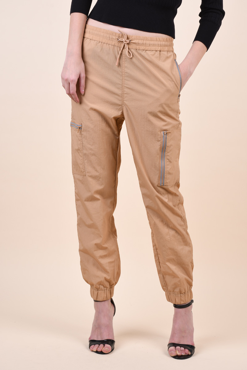 Pantaloni VERO MODA Sisely Hr String Tan