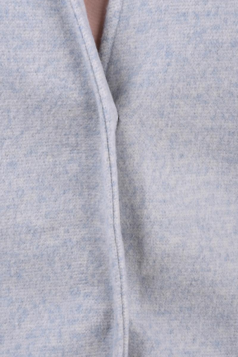 Palton VERO MODA Brushedkatrine 3/4 Blue Fog