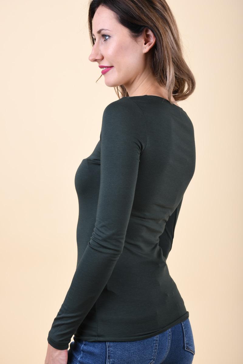 Bluza VILA Officiel O-Neck Darkest Spruce